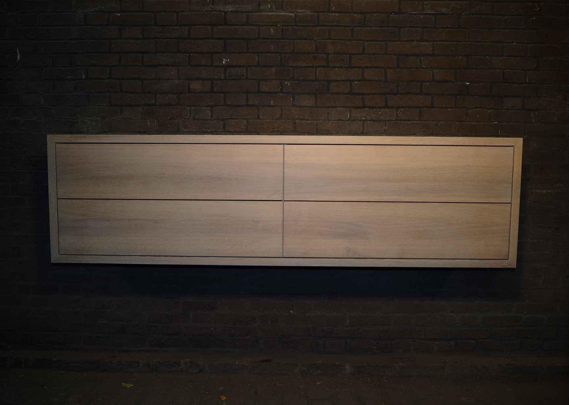 Badkamermeubel Eiken: Massief eiken badkamermeubel meubelmarcker ...