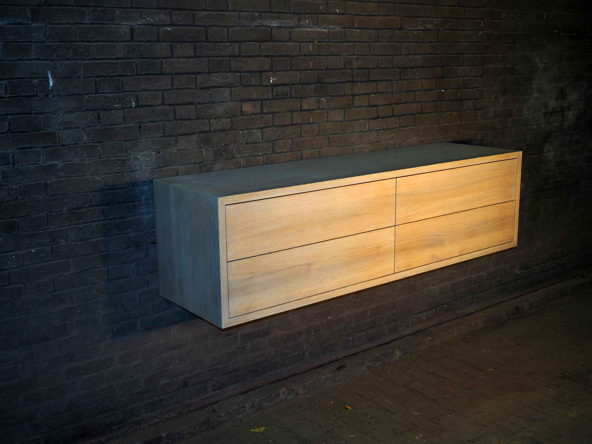 massief eiken badkamermeubel � meubelmarcker